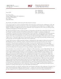 Academic Cover Letter Sample Academic Cover Letter Sample Intended