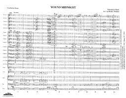 Round Midnight Chart Round Midnight Pdf Download By Bob Washut