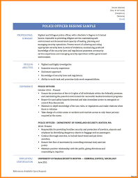Police Officer Resume Examples Police Officer Sample Resume Free Download Military Veteran 14