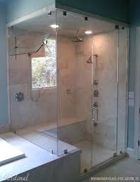 Fully Enclosed Shower. There are a variety of different installation  options available. The clip system, top &