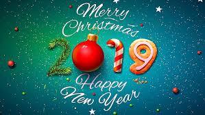 happy new year 2019 merry christmas