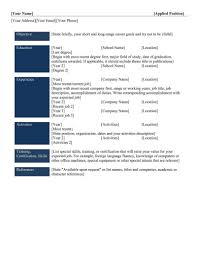 Nonsensical Different Resume Formats 9 Best Different Types Of