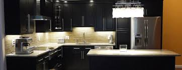 counter lighting http. Dark Cabinets With Contrast Countertops And Under Cabinet Lighting To Highlight A Modern Backsplash. Counter Http Y