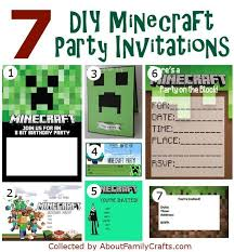 50 Diy Minecraft Birthday Party Ideas About Family Free