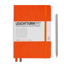 Leuchtturm1917 Notebook Medium A5 Hardcover Orange Pennonia