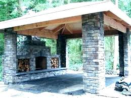 build brick fireplace outdoor construction average cost to building your own awesome o