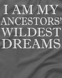 I Am My Ancestors Wildest Dream Quote Best Of I Am My Ancestors' Wildest Dreams Funny Quote TShirt TeeShirtPalace