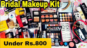 affordable bridal makeup kit under rs 800 indian bridal makeup essentials in hindi