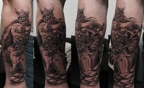 Tetování Warrior Tetování Tattoo