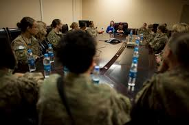 u s department of defense photo essay stephanie carter wife of u s deputy defense secretary ash carter s female service