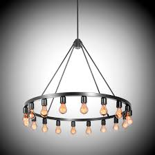 contemporary chandelier metal incandescent spark 36 chandelier by jeremy pyles