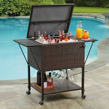 trendy outdoor cooler cart 22 patio for party tools ideas coolers l 4bda2ed580d41be3 sofa endearing outdoor cooler cart