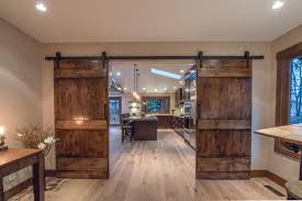 contemporary home office sliding barn. Home Design Inspiration: Terrific Office Barn Doors Make It Easier To Find Space For From Contemporary Sliding B