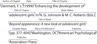 In Text Citation For Pdf Apa
