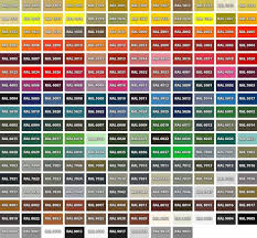 Ral Colour Chart Download Free 30 Ral Color Chart Pdf Andaluzseattle Template Example