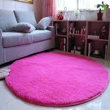 140cm diameter 4 5cm thicken gy round carpet pink rug tapete carpets for bedroom living room