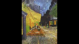 great post impressionist vincent van gogh painting café terrace at night