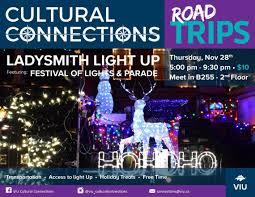 Ladysmith Light Up 2019 Ladysmith Light Up International Education Viu