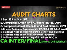 Pankaj Garg Audit Charts Nov 2018 Audit Charts For Ca Intermediate Final By Pankaj Garg Ii