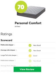 Sleep Number Comparison Chart Sleep Number Vs Personal Comfort Number Bed Save 60