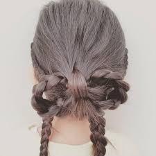 Momoyasuko3 Momo 今日のヘアスタイル 子供髪型子