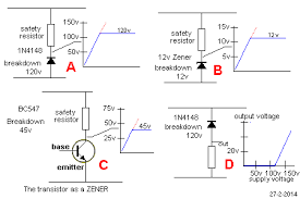 how a diode works the voltage across a signal diode or power diode or zener diode will be equal to rail voltage when the voltage is below the breakdown or avalanche voltage