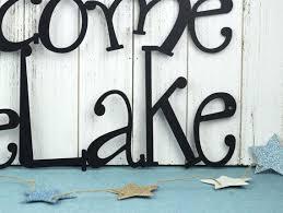 lake house outdoor wall art