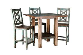 rustic round dining table and chairs cabana counter set rustic dark oak dining table and chairs