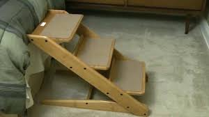 fancy dog stairs for tall beds w2958 unusual collapsible dog steps for high beds newest bedding