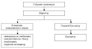 Дипломная работа Управление денежными потоками предприятия на  Структура ЗАО Юником представлена на рис 3