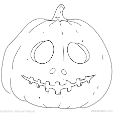 Small Picture Coloring Halloween Masks Gallery Coloring Page