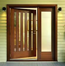 s glass door with wooden frame sliding