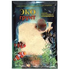 <b>Песок ЭкоГрунт кварцевый</b> белый 0.3-0.9 мм 1 кг, артикул: 520010