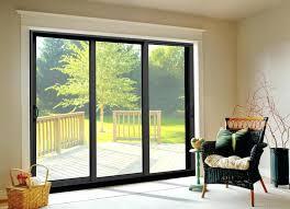 ideas patio sliding glass door or elegant 3 panel sliding patio door ideas about sliding glass