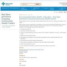red deer alberta communitypop alberta health services
