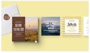 Tanpa batasan jarak dan waktu. Membuat Kartu Undangan Dengan 100 Contoh Desain Canva