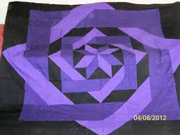 Purple Quilt Patterns Simple Inspiration