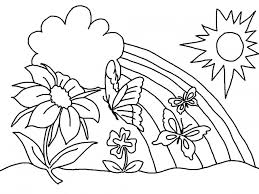 Small Picture 40 Preschool Coloring Pages Spring Uncategorized printable
