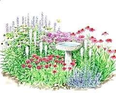 flower garden plans. Flower Garden Plans Zone 5 Photos Of Full Sun Perennial Beds Butterfly Plants . P