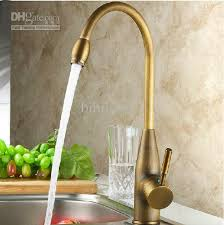 Antique Brass Kitchen Faucet Kitchen Design