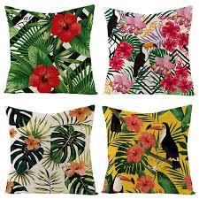 <b>Fuwatacchi</b> Pillow Cover Paintings throw pillows Cushion Cover ...