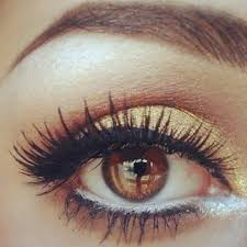 20 gorgeous makeup ideas for brown eyes if you have brown eyes you need to get yourself some gold eyeshadow for brown e s