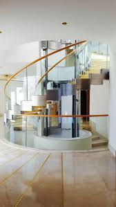 This amazing helical staircase was built for a luxury Villa in Tunis. The  strings are