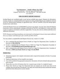 Free 10 Fire Incident Report Examples Templates Download