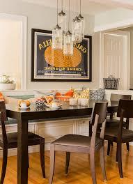 breakfast nook lighting dining room transitional with breakfast area hardwood floors breakfast nook lighting