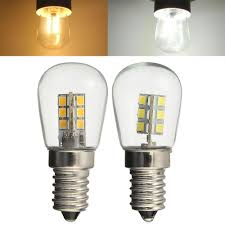 E14 3w Smd3014 Led Fridge Refrigerator Corn Light Bulb Pendant Crystal Chandelier Spot Lightt 220v