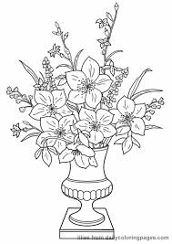 Small Picture Realistic Flower Coloring Pages Coloring Coloring Pages
