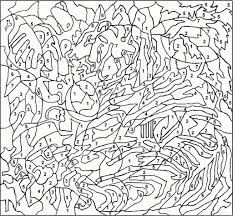 Small Picture Coloring Pages Free Of Color By Number Adult In zimeonme