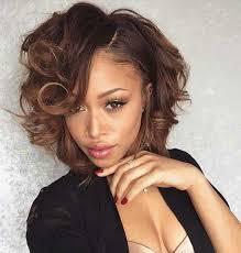 cute short bob hairstyles black women