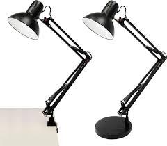 lloytron swing arm hobby desk lamp 45w color black co uk computers accessories